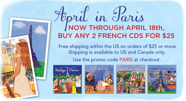 PWM - April in Paris Promotion