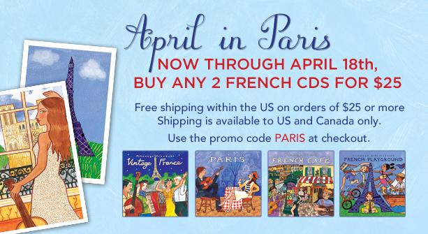 PWM - April in Paris Promotion