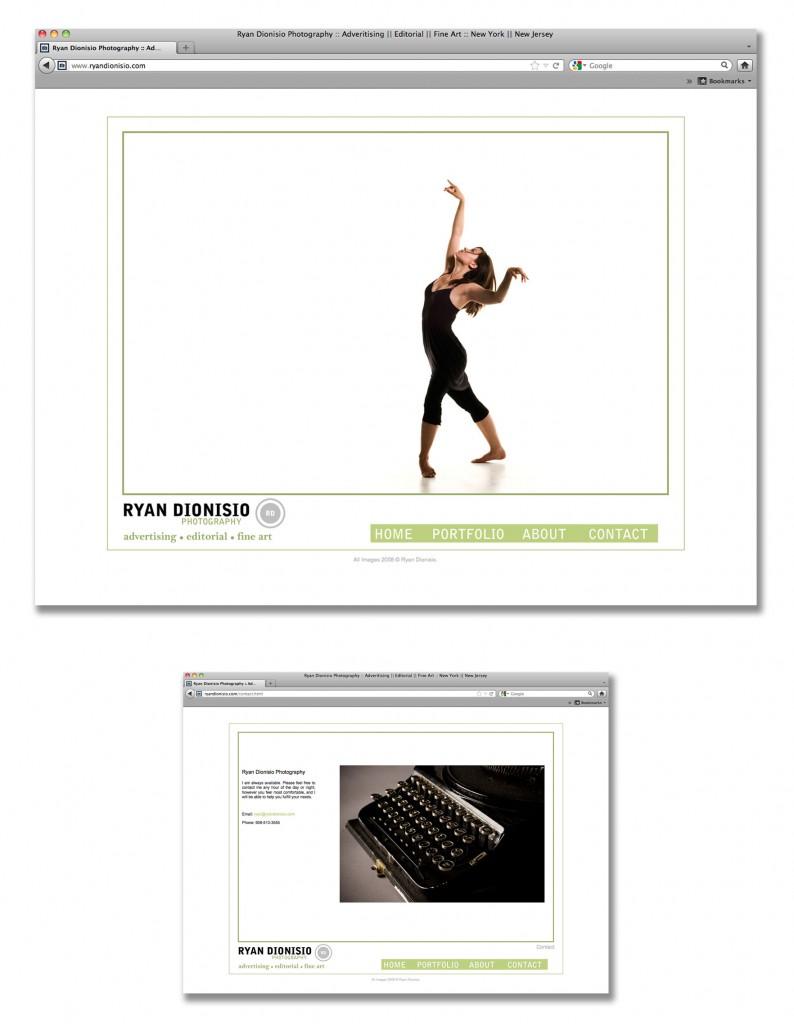 Ryan Dionisio Photography Website